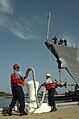 USS Farraguyt moors at Guantanamo.jpg