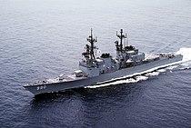 USS Ingersoll (DD-990) underway off Southern California on 13 May 1982.jpeg