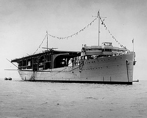 USS Langley (AV-3) at French Frigate Shoals 1937.jpg