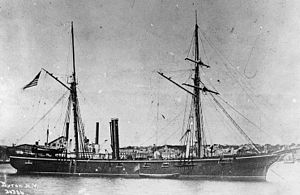 USS Marblehead in 1864