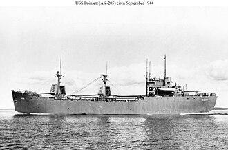 USS Poinsett (AK-205) - Image: USS Poinsett (AK 205)