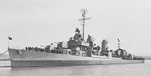 USS The Sullivans (DD-537) at Mare Island Navy Yard 1945.jpg