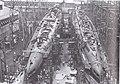USS Ulua (SS-428) and USS Trumpetfish (SS-425) under construction.jpg