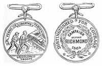 Butler Medal, front and back
