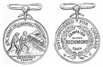 Butler Medal - Butler Medal, front and back