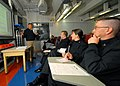 US Navy 070410-N-7981E-008 Sailors from Naval Recruiting District Northwest listen to a lecture by guest speaker Chief Navy Counselor Franklin Tioncgo during the recruiting district's biannual conference.jpg