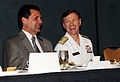 US Navy 100506-N-1522S-002 Vice Adm. James W. Houck shares conversation with Dan McCarthy.jpg