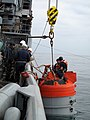 US Navy 100514-N-0000B-001 Members of Deep Submergence Unit deploy a submarine rescue chamber.jpg