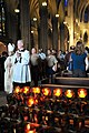 US Navy 100530-N-5244H-004 Sailors, Marines and Coast Guardsmen participate in a Catholic Mass at St. Patrick's Cathedral during Fleet Week New York.jpg