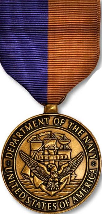 Navy Meritorious Public Service Award - Medal of the award
