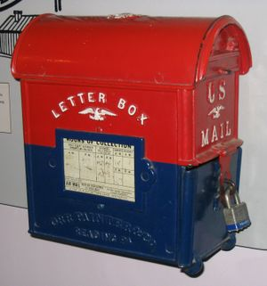 Antique - An antique U.S. mailbox