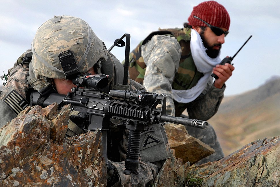 US soldiers in Zabul province