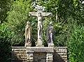 Uedem-Keppeln, Hochkreuz mit Kreuzigungsgruppe PM18-02.jpg