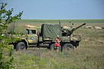 Ukrainian ZiL-131 with ZU-23-2 anti-aircraft gun.jpg