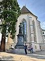 Ulrich Zwingli Monument, Limmatquai (Ank Kumar) 02.jpg