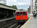 Underground Train Arrives at East Putney - geograph.org.uk - 1308704.jpg