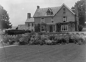 Marmaduke Gwynne - Garth House. Gwynne's home and the house where Charles Wesley courted Sally Gwynne