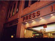 Front of UPI Headquarters, Washington, D.C.