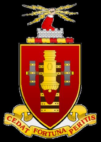 United States Army Field Artillery School - Device of the United States Army Field Artillery School