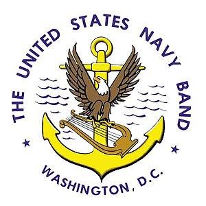 Deutsch: United States Navy Band Logo.