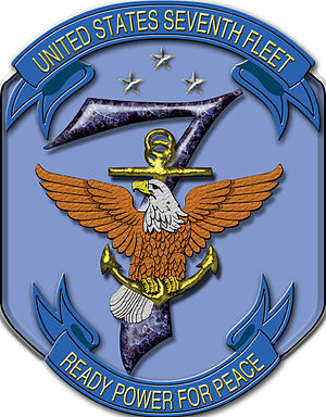United States Seventh Fleet - Image: United States Seventh Fleet logo (hi res)