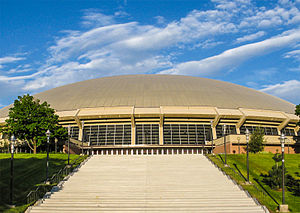 Jon M. Huntsman Center - Exterior in 2009