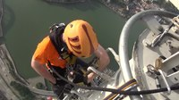File:Urban Climbing at Macau Tower, 338 meter.webm