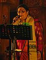 Usha Uthup at Toshali National Crafts Mela, Janata Maidan, Bhubaneswar 2.jpg