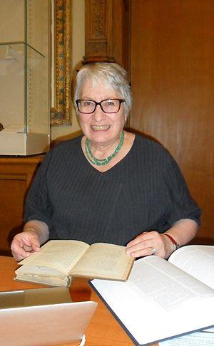 Uta Frith - Frith at the Royal Society, 2012