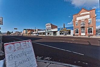 Panguitch, Utah - Panguitch Main Street, April 2010