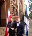 Välisminister Urmas Paet kohtus oma Poola kolleegi Radosław Sikorskiga 4. juunil Varssavis (14363632283).jpg