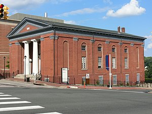 First African Baptist Church (Richmond, Virginia) - The old church building, now a property of Medical College of Virginia