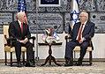 VP Mike Pence meets President Reuven Rivlin (24991750977).jpg
