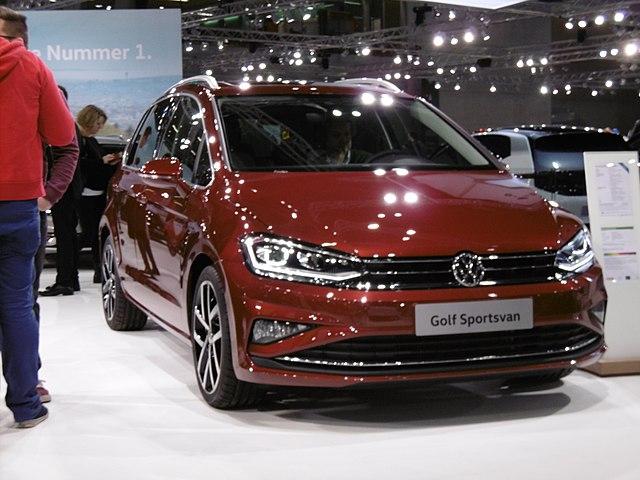 Filevw Golf Sportsvan Facelift 2 Vienna Autoshow 2018g