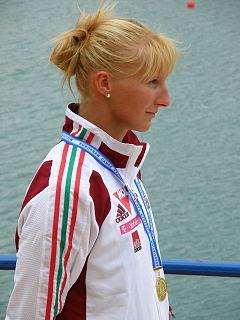 Ninetta Vad Hungarian sprint canoer