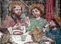 Valdaora di Mezzo-Mitterolang, San Egidio, frescos last supper 004.JPG