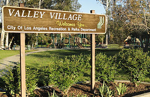 Valley Village, Los Angeles - Valley Village Park