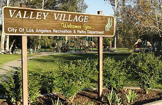 Valley Village, Los Angeles - Valley Village Park