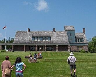 William Cornelius Van Horne - Covenhoven, the Van Horne Mansion on Minister's Island in Passamaquoddy Bay.