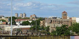 Van Nest, Bronx - Overlooking Van Nest towards the northeast