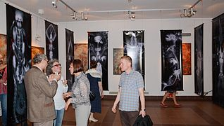Vasily Zenko Exhibition in Gallery University of Culture 11.06.2014-07.JPG