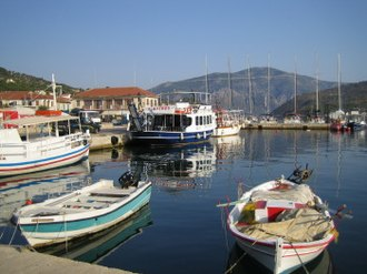 Meganisi - Vathy Harbor