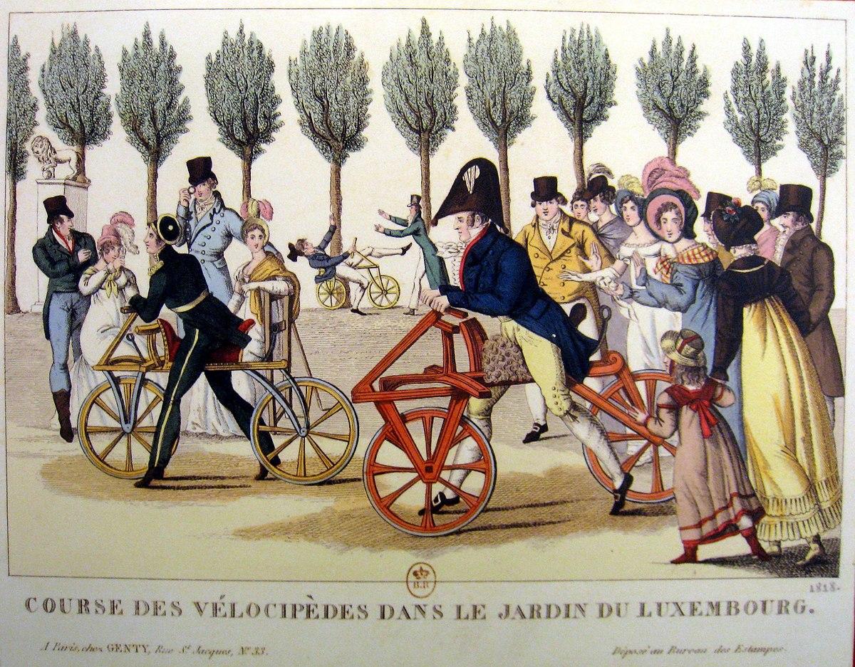 Draisienne wikip dia - Comment aller au jardin du luxembourg ...