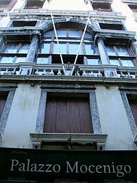 Venezia - Palazzo Mocenigo presso San Stae . Foto di Paolo Steffan.jpg
