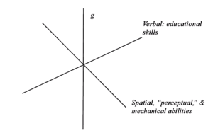 Vernon's verbal-perceptual model - verbal perceptual model