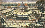 The Versailles menagerie during the reign of Louis XIV.