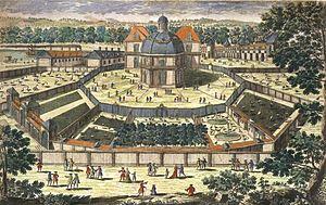 Menagerie - The Versailles menagerie during the reign of Louis XIV.