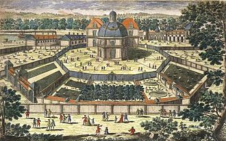 Zoo - The Versailles menagerie during the reign of Louis XIV in the 17th century