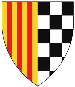 Viscounty of Àger - Coat of arms of the viscounts of Àger