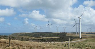 Woolnorth Wind Farm - Image: Vestas V66 turbines at Woolnorth Wind Farm